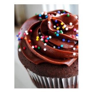 Chocolate Cupcake  Photograph Post Card