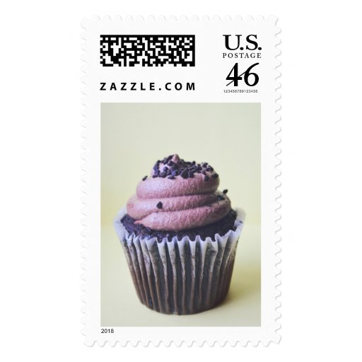 Chocolate Cupcake Photograph  Stamps