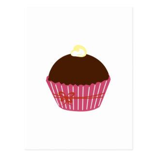 Chocolate Cupcake Postcard