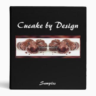 Chocolate Cupcake Presentation Binder