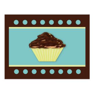 Chocolate Cupcake Recipe Card