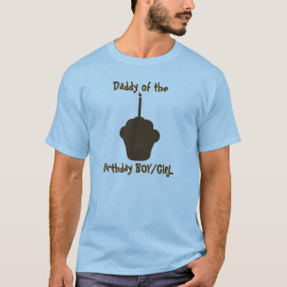 Chocolate Cupcake silhouette T-Shirt