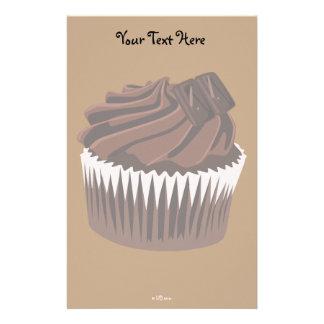 Chocolate Cupcake Stationery