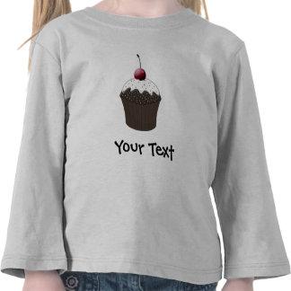 Chocolate cupcake t shirts