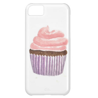 Chocolate Cupcake with Pink frosting iPhone 5C Case