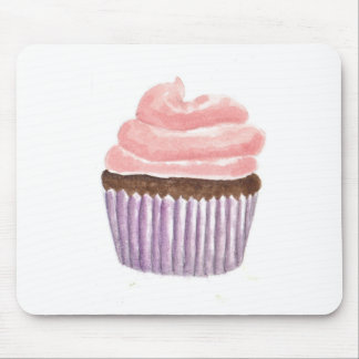 Chocolate Cupcake with Pink frosting Mousepad