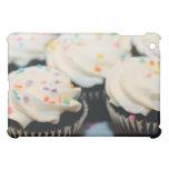 Chocolate Cupcake With Sprinkles iPad Case