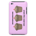 chocolate cupcakes barely there iPod case