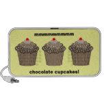 chocolate cupcakes iPod speakers