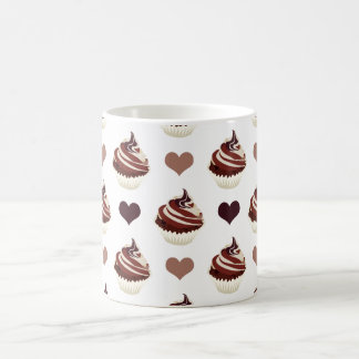 chocolate cupcakes pattern coffee mug