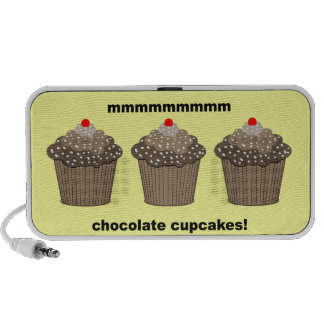 chocolate cupcakes portable speaker