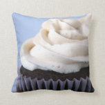 Chocolate Cupcakes Vanilla Frosting Pillows