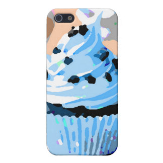 Chocolate Cupcakes with Blue Buttercream iPhone SE/5/5s Cover