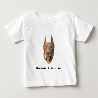 Chocolate Dane Baby T-Shirt
