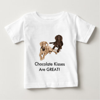 Chocolate Danes Are Great Baby T-Shirt