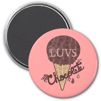Chocolate de LUVS Iman De Nevera