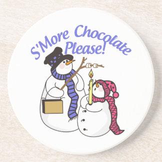 Chocolate de SMore por favor Posavaso Para Bebida