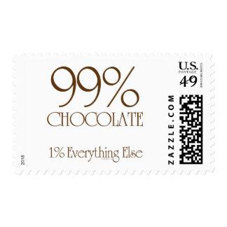 Chocolate del 99% franqueo