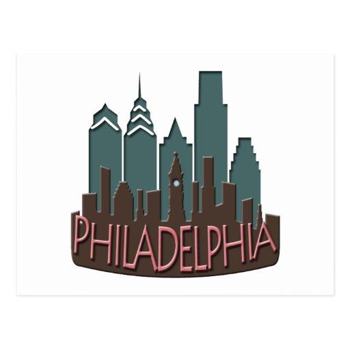 Chocolate del newwave del horizonte de Philly