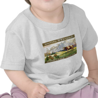 Chocolate del suizo de Tallinn (Cow) Camisetas