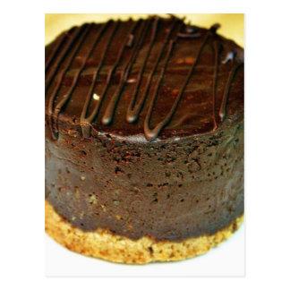 Chocolate Dessert Cake Postcard
