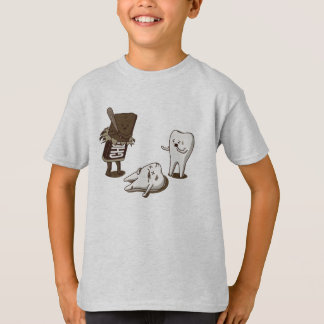 Chocolate destroys your teeth T-Shirt