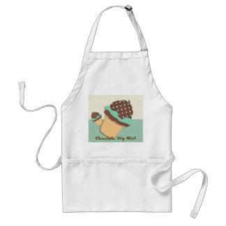 Chocolate Dip Mint Apron