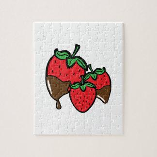 Chocolate Dip Strawberries Puzzles
