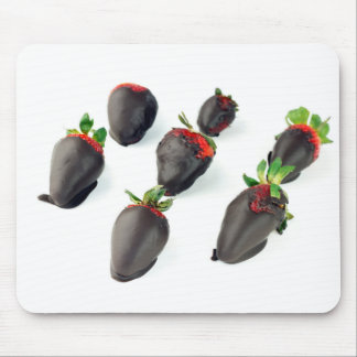 Chocolate Dipped Strawberries Mouse Pad