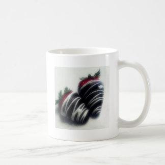 Chocolate Dipped Strawberries Classic White Coffee Mug