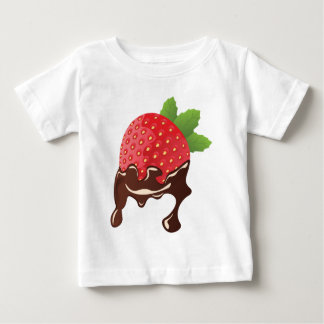Chocolate Dipped Strawberry Baby T-Shirt