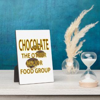 Chocolate Display Plaques