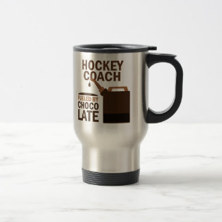 Chocolate (divertido) del coche de hockey taza de café