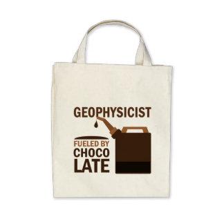 Chocolate divertido del geofísico bolsa