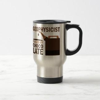 Chocolate divertido del geofísico taza de café