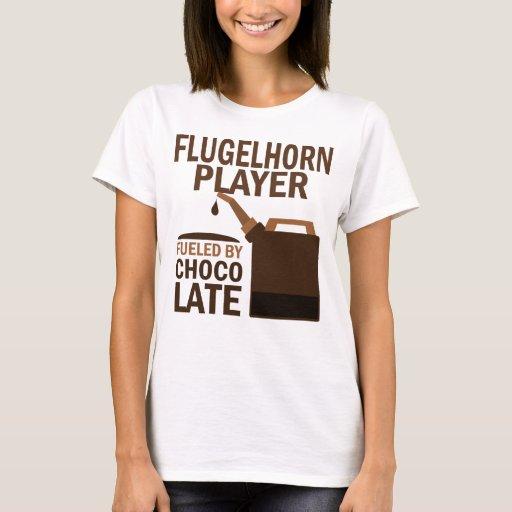 Chocolate (divertido) del jugador de Flugelhorn Playera