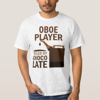 Chocolate (divertido) del jugador de Oboe Camisas