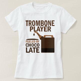 Chocolate (divertido) del jugador de Trombone Poleras