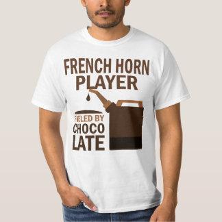 Chocolate (divertido) del jugador de trompa playera