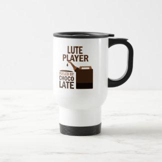 Chocolate (divertido) del jugador del laúd taza de viaje