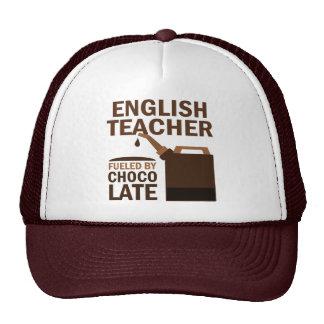 Chocolate (divertido) del profesor de inglés gorro