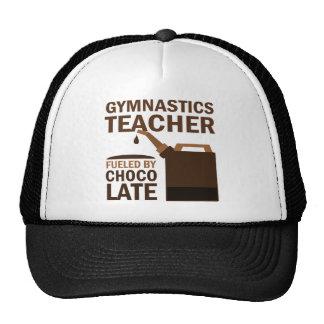 Chocolate (divertido) del profesor de la gimnasia gorro de camionero