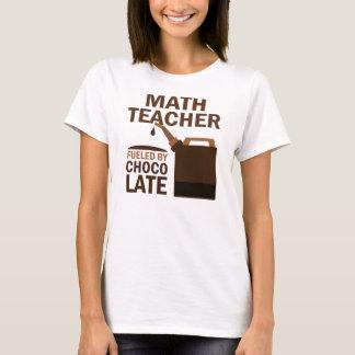 Chocolate (divertido) del profesor de matemáticas playera