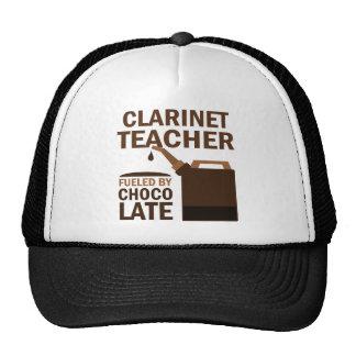 Chocolate (divertido) del profesor del Clarinet Gorro De Camionero
