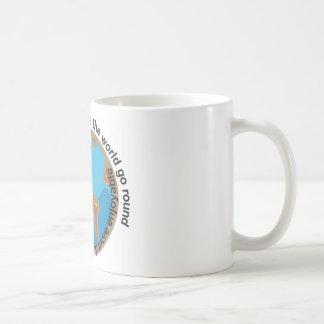 Chocolate doesn't make the world go round coffee mug