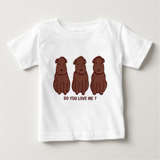 Chocolate Dogs Baby T-Shirt