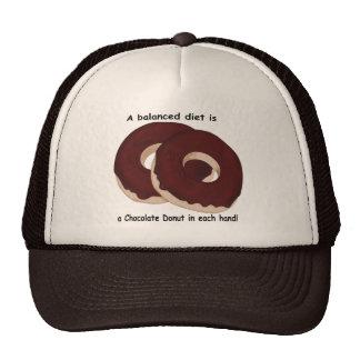 Chocolate Donut Diet Hat