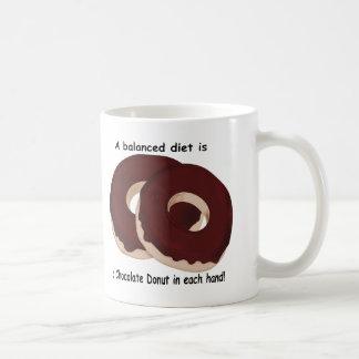 Chocolate Donut Diet Mug