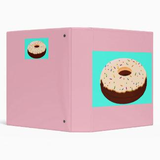 Chocolate Donut (Doughnut) Binder