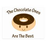 Chocolate Donut Postcard